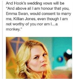 This will be William's wedding  vow.