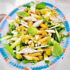 Recept - Salade van pasta en makreel - Allerhande