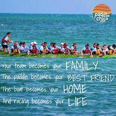 Obsessed with dragon boating? Me too! #paddlechica #teamwork #floridatarpons  Tarpons racing in Marathon Key, Florida