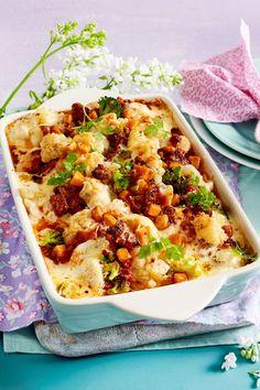 Vegetable casserole a la bolognese - Food - Vegetable Casserole, Vegetable Stew, Vegetable Recipes, Meat Recipes, Healthy Recipes, Slow Cooking, Cooking Dishes, Slow Cooker Casserole, Casserole Dishes