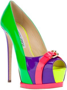 Gianmarco Lorenzi Platform Stiletto Pump