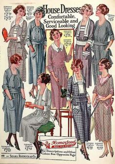 1920s housedresses