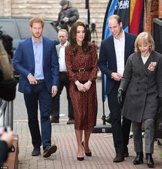 The Duke and Duchess looked to be in good spirits as they made their way into the event, b...