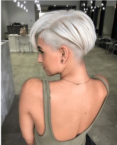 60 stylish Edgy Pixie cuts and hairstyles ideas new site Edgy Hair Cuts Edgy Hairstyles Ideas pixie site Stylish Short Hair Undercut, Short Pixie Haircuts, Short Bob Hairstyles, Short Hair Cuts, Cool Hairstyles, Pixie Cut With Undercut, Undercut Pixie Haircut, Edgy Short Hair, Edgy Pixie Cuts
