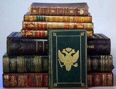 Russian Imperial Antiquarian Books of Tsars for sale Коллекция антикварных Русских и Европейских книг 18-19 века Продажа