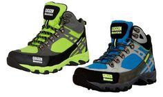 Groupon Goods Global GmbH: Guggen Mountain Wanderschuhe für Damen in Grün oder Blau