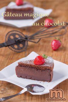 Gâteau magique au chocolat - Macaronette et cie