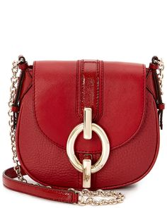 "Diane von Furstenberg ""Sutra"" Mini Leather Crossbody is on Rue. Shop it now."