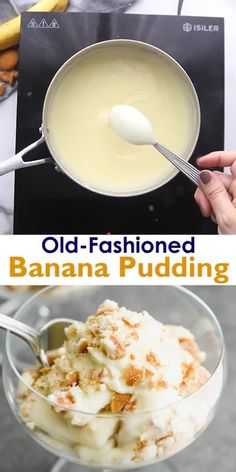 Banana Pudding From Scratch, Old Fashioned Banana Pudding, Best Banana Pudding, Banana Pudding Recipes, Banana Wafer Pudding, Banana Custard Recipe, Bannana Pudding, Southern Banana Pudding, Banana Pudding Cheesecake