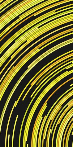 Yellow psychedelic abstract background - vector graphic design from concentric circular stripes Hippie Wallpaper, Colorful Wallpaper, Yellow Background, Vector Background, Vector Design, Graphic Design, Beautiful Gif, Pretty Wallpapers, Circle Design
