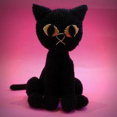Gato de crochê  Crochet cat amigurumi