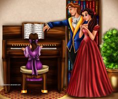 Beauty & the Beast Family music II by *Mareishon on deviantART