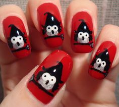 Witches Nail Art