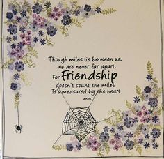 Pottery Pettites, Cobweb and Friendship quote