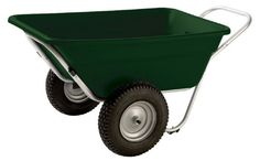 Smart Carts Garden/Utility Cart with Turf Wheels - Garden Carts at Hayneedle