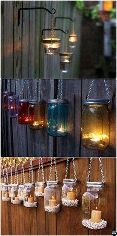 illuminare il giardino in modo creativo