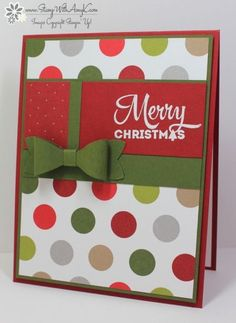 Stampin' Up! Lots of Joy Merry Christmas