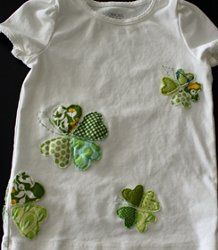 Shamrock Chic Fashion | AllFreeHolidayCrafts.com