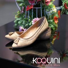 Charme do barbicacho e do tom bege pra combinar com qualquer look #koquini #comfortshoes #euquero Compre Online: http://koqu.in/1OE4PX1