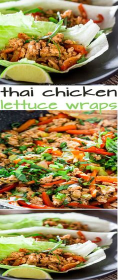 thai chicken lettuce wraps ready in 15 minutes from start to thai chicken lettuce wraps ready in 15 minutes from start to finish perfect quick summer