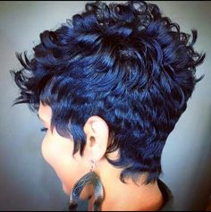 Voice of Hair is the place to find natural and relaxed hairstyles and hairstylists in your area. Find new styles or become a featured stylist! Love Hair, Great Hair, Gorgeous Hair, Short Sassy Hair, Short Hair Cuts, Pixie Cuts, Short Pixie, Coiffure Hair, Curly Hair Styles