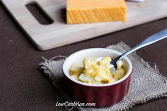 An instant low carb cauliflower mac and cheese recipe that is ready in less than 5 minutes. This quick cauli mac and cheese only requires 3 ingredients!