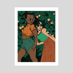 Girls and Oranges by Raven Warner
