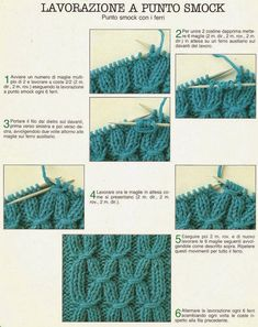 Tina's handicraft : 177 pattern for knittings stitch Knitting Charts, Knitting Stitches, Knitting Patterns, Crochet Patterns, Crochet For Kids, Knit Crochet, Punto Smok, Smocks, Ribbon Design