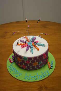 Jo's birthday cake, via Flickr.