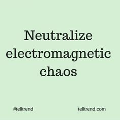 Electromagnetic chaos causes your body to develop discease.  We cannot eliminate…  #RePin by AT Social Media Marketing - Pinterest Marketing Specialists ATSocialMedia.co.uk