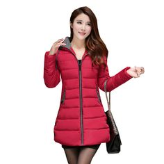 Jackets & Coats Fashion Silver Winter Down Jacket Women Thicken Warm Hooded Padded Coat Female Parkas 2019 New Arrival Womens Puffer Jacket Nourishing The Kidneys Relieving Rheumatism Parkas