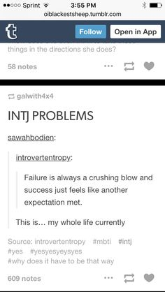 Unhealthy but nevertheless something I'm guilty of. #INTJ