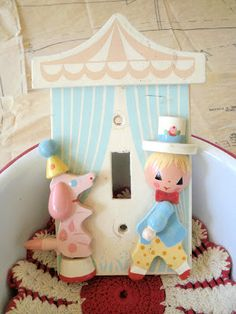 Irmi - Pastel Circus switch plate cover