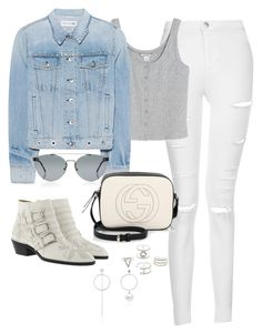 """""""Untitled #3925"""" by theaverageauburn on Polyvore featuring Topshop, Monki, rag & bone, Gucci, Chloé, RetroSuperFuture and Charlotte Russe"""