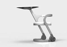 未來大學課桌椅 Future Desk