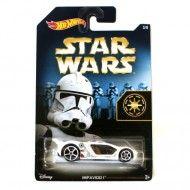 Masinuta Hot Wheels Star Wars Stormtrooper Impavido I 1/64