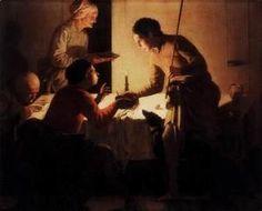 Hendrick Terbrugghen - Esau Selling His Birthright