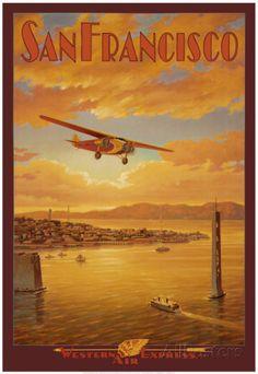 Western Air Express, San Francisco, Kalifornien
