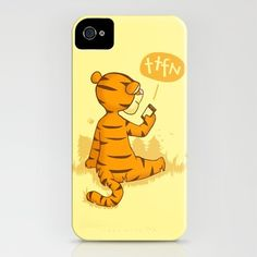 I love Tigger! Isabelle has a shirt like this that I'm super jealous of. I love this case!