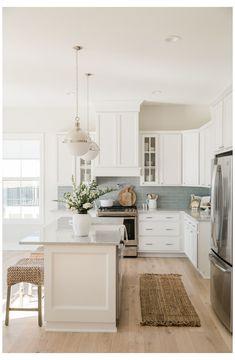 Home Decor Kitchen, Interior Design Kitchen, Home Kitchens, Small Kitchens, Coastal Kitchens, Boho Kitchen, Kitchen Store, Dream Kitchens, Kitchen Tiles