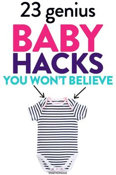 Baby hacks for new moms! Learn the most effective and genius newborn tips to help you with your new baby. I cover everything to help you gain some confidence as a new parent. baby 23 Clever Baby Hacks You Wished Your Mom Told You Baby Care Tips, Nursing Tips, Newborn Care, Baby Newborn, Baby Baby, Baby Supplies, Fantastic Baby, After Baby, Baby Arrival