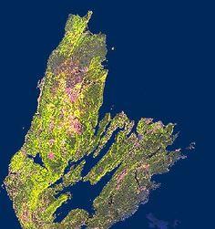 Satellite Image of Cape Breton, Nova Scotia, Canada Watercolor Painting, Watercolors, Glace Bay, Nova Scotia Tourism, East Coast Travel, I Am Canadian, Enchanted Island, Cape Breton, O Canada