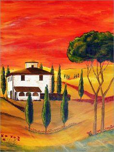 Christine Huwer - Wärme der Toskana