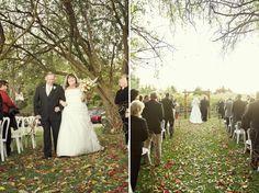 Rustic Handmade California Wedding here at the vineyard