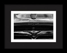 1956 Ford F-100 Framed Print featuring the photograph Stra8 On by Marnie Patchett
