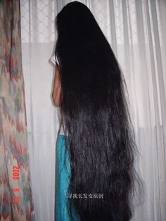 Long Hair Silky: Black Silky Long Hair Beautiful Long Hair, Beautiful Women, Super Long Hair, Silky Hair, Indian Hairstyles, Hair Lengths, Long Hair Styles, People, Thick Hair