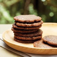 74 favorite cookie recipes | Ginger Chocolate Cookies | Sunset.com