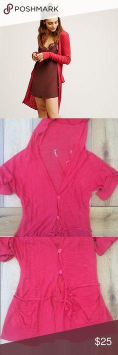 Selling this FP Maxi Hooded Cardigan on Poshmark! My username is: sanchezjasmine. #shopmycloset #poshmark #fashion #shopping #style #forsale #Free People #Sweaters
