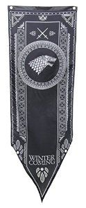 Game Of Thrones- House Stark Tournament Banner Fabric Poster  http://amzn.to/2cw8MW6  #gameofthrones #gameofthronesmerchandise