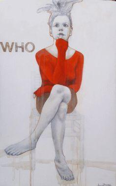 AM I - Joan Dumouchel - 60'' x 36'' - acrylique sur toile